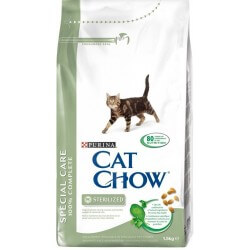 CAT CHOW 15kg Sterilized