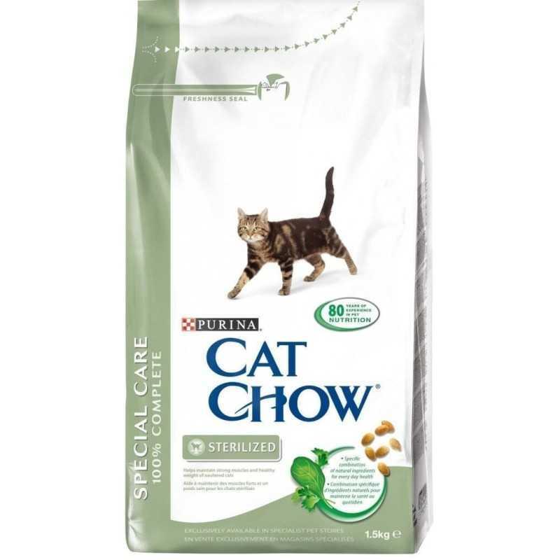 CAT CHOW 15kg Sterilized