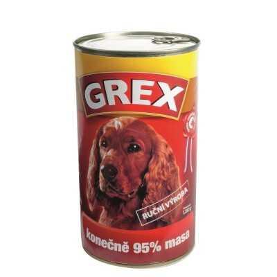 GREX  Hovězí 95%masa 1280g