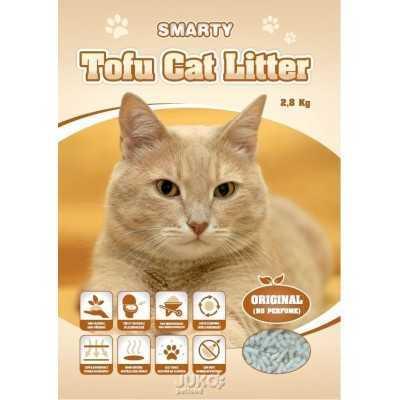 Smarty Tofu Cat Litter-Original-podestýlka bez vůně 6lt.