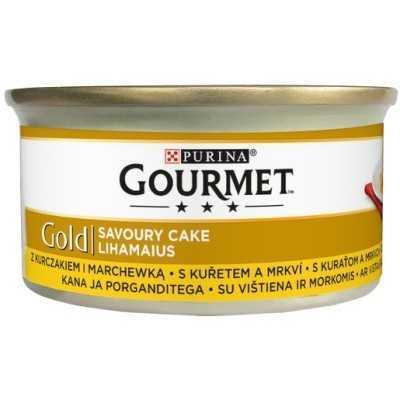 GOURMET GOLD Savoury Cake 85g kuře a mrkav