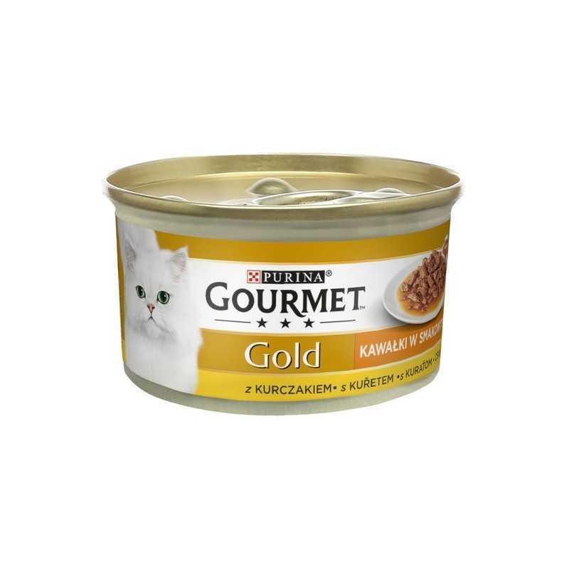 GOURMED GOLD Sauce delight s kuřetem v omáčce 85g