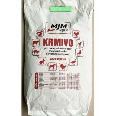Krmná směs KK2 pro odchov králíků s léčivem granulovaná 20kg