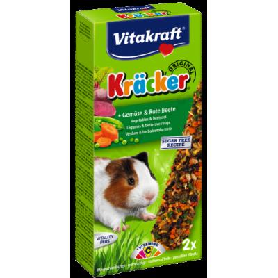 VITAKRAFT KRACKER MORČE 2ks zelenina+červ.řepa