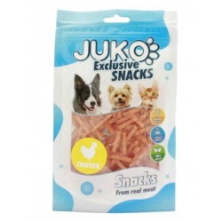 JUKO-Snack Chicken Thin Strips  70g