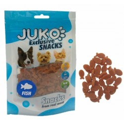 JUKO-Snack Mini Tuna in Fisch Shape 70g