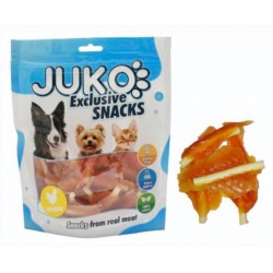 JUKO-Snack SOFT MINI Chicken Jerky with Calcium  250g