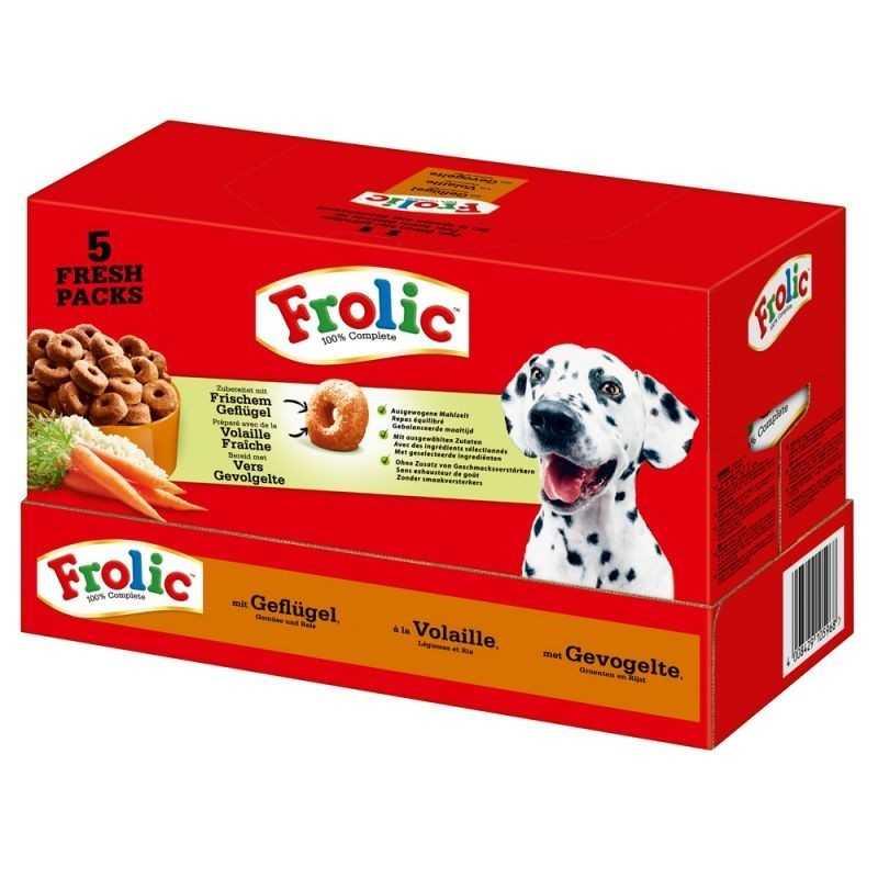 FROLIC 7,5kg drůbeží  (5x1,5kg)