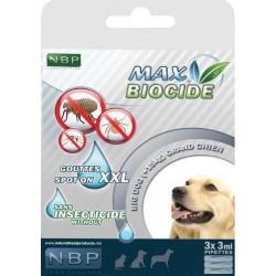 Max Biocide SPOT ON Dog 3x3ml  XXL