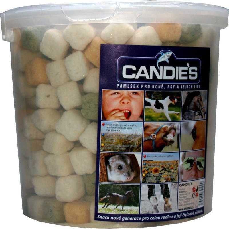 CANDIES pochoutky pro koně 500g mix-kyblík