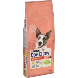 DOG CHOW ACTIVE kuře 14kg