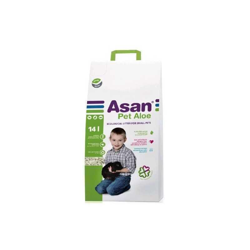 ASAN Pet s Aloe 14l.-2,7kg pro hlodavce